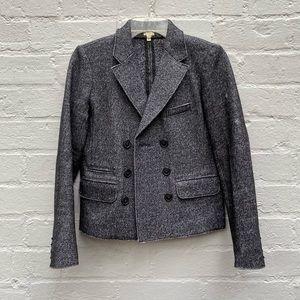 J.Crew wool short blazer